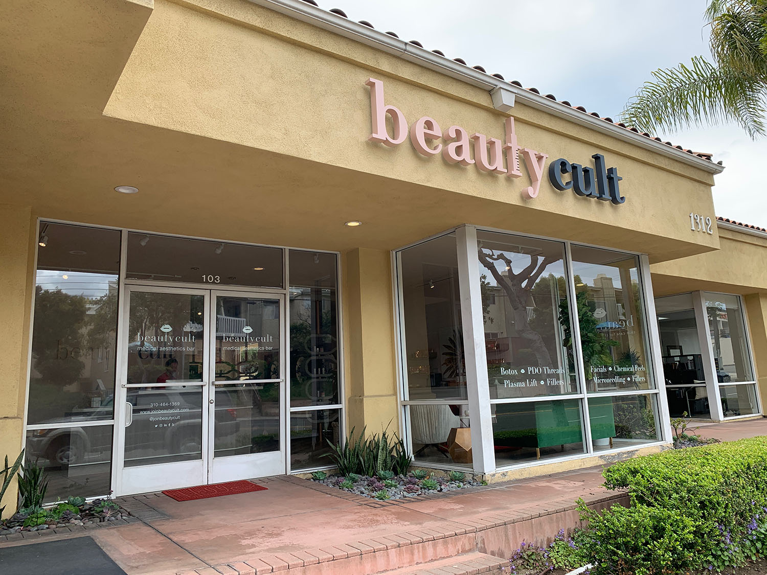 Beauty Cult opened in February 2019 and is located in Redondo Beach, California.