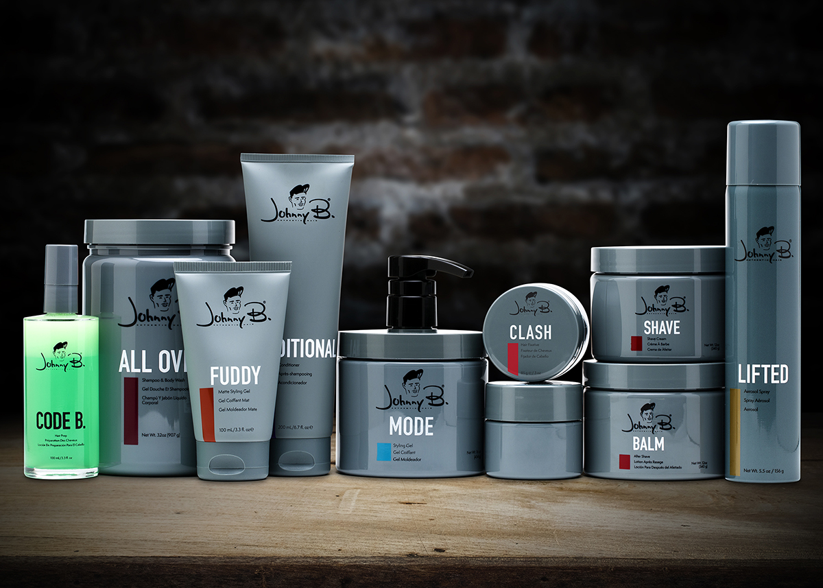Johnny B. Hair Care is a line of high quality men's grooming products that are innovative and affordbale.