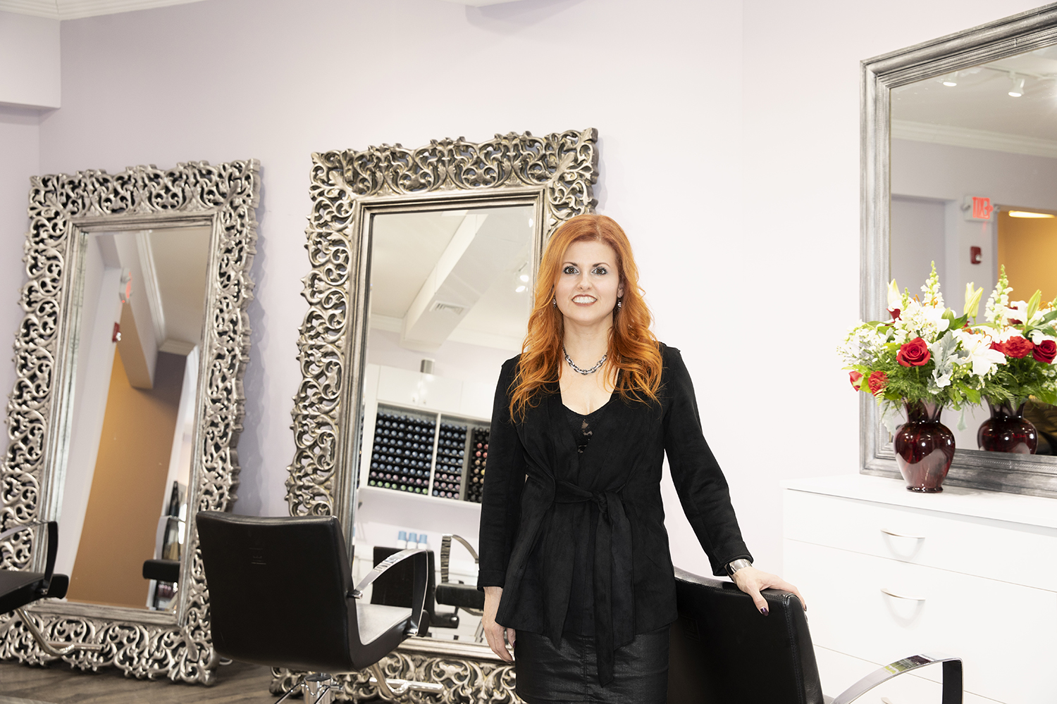 Odete DaSilva, Artistex's industry-renowned, award-winning colorist, stylist, and owner.