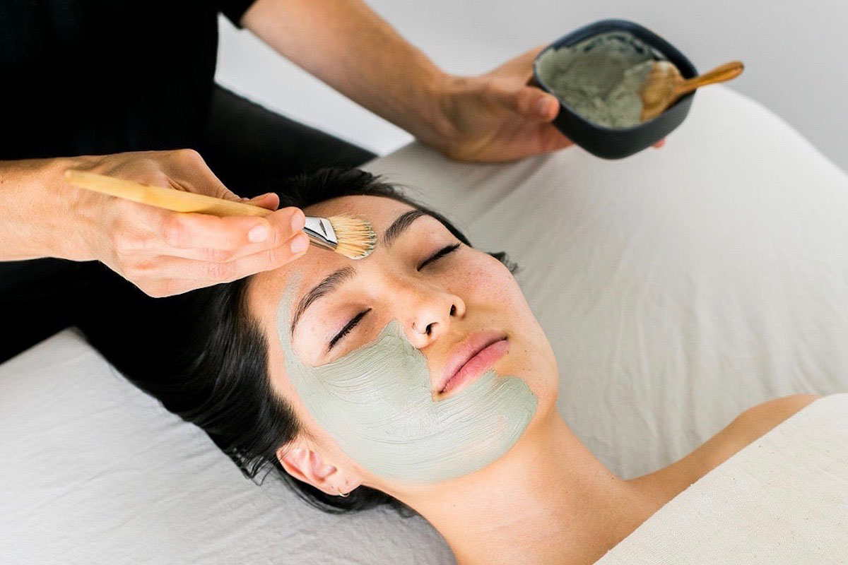 The Spa at Primally Pure offers four different facial treatments to support individual skin needs.