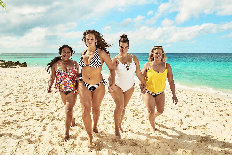 Sherri Shepherd, Ashley Graham, Tara Lynn, and Emme are part of the Summer '19 campaign.