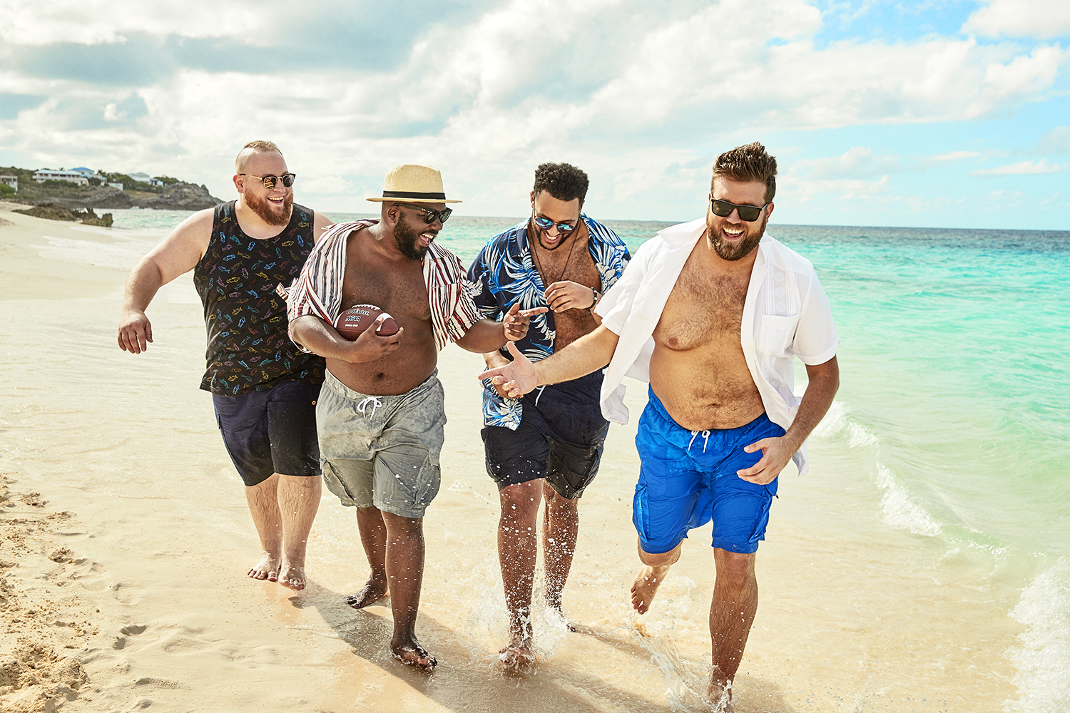The campaign is also aimed at improving body positivity in men.