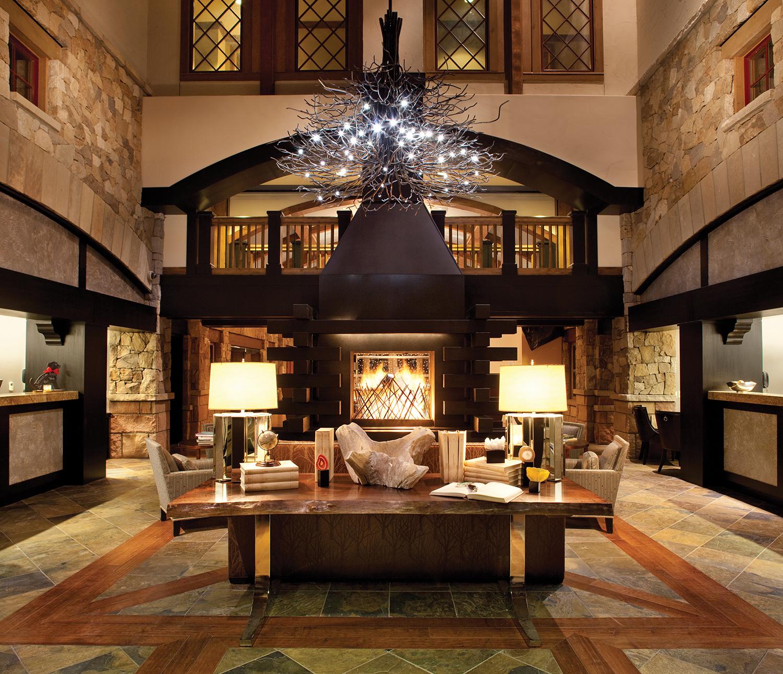 The lobby at The Sebastian.