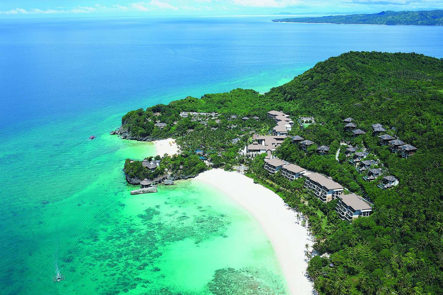 Shangri-La's Boracay Resort & Spa, Philippines.