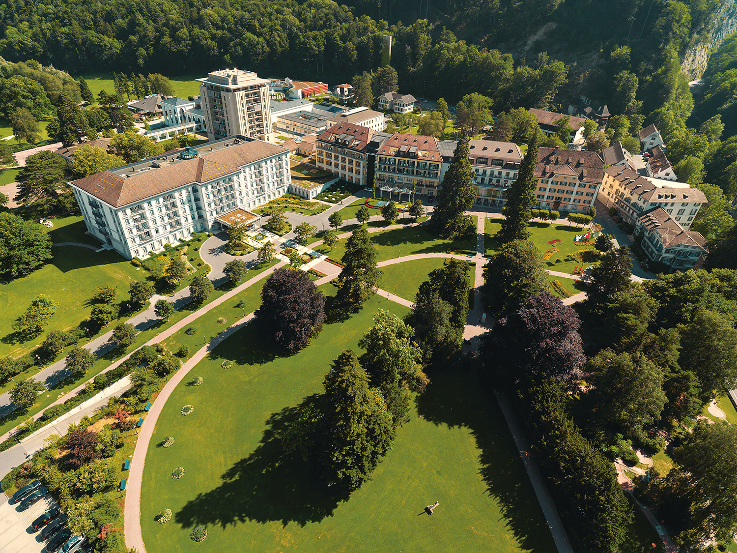 Located in Switzerland, Grand Resort Bad Ragaz is the leading wellbeing and medical health resort in Europe.