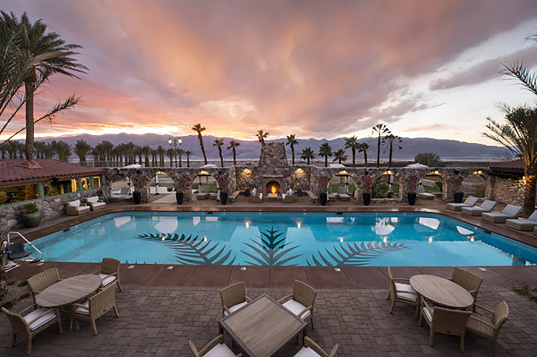 The Inn's stunning swimming pool.