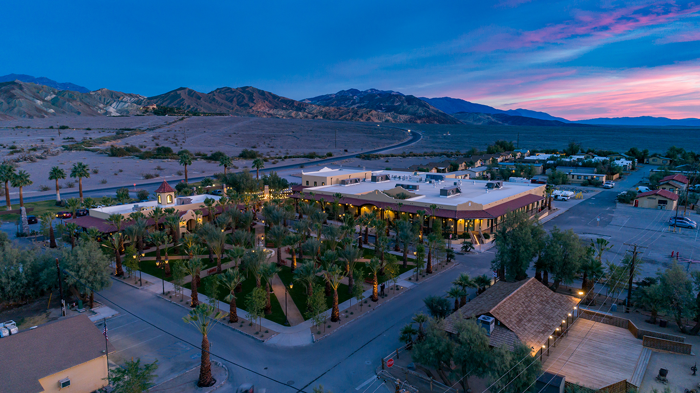 Oasis Ranch Aerial Dusk resized.jpg