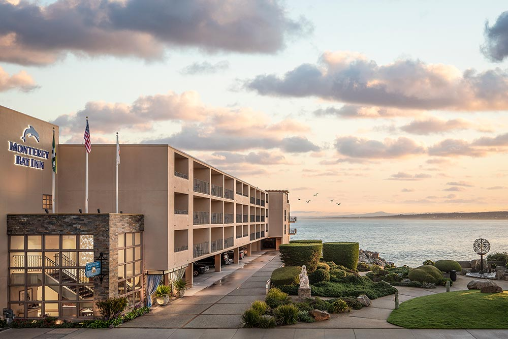 Monterey Bay Inn in Monterey, California.