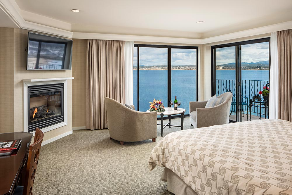 Suite at Monterey Bay Inn.