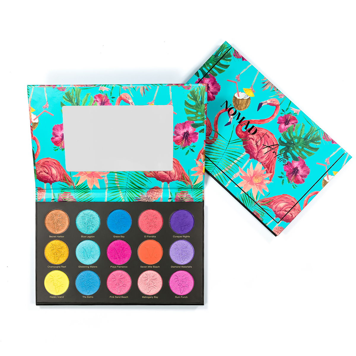 The Antilles Palette was inspired by the beautiful colors of the Caribbean.