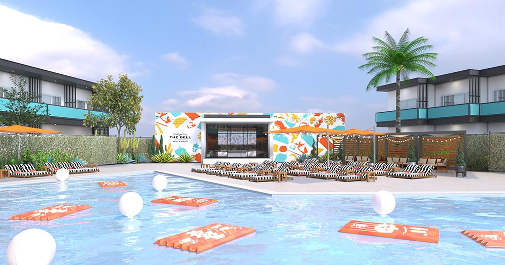 The Taco Bell Hotel and Resort will start taking reservations on June 27 for stays between August 8-12.
