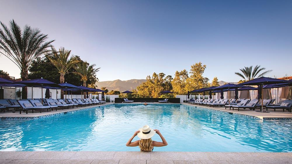Indigo Pool at Ojai Valley Inn.