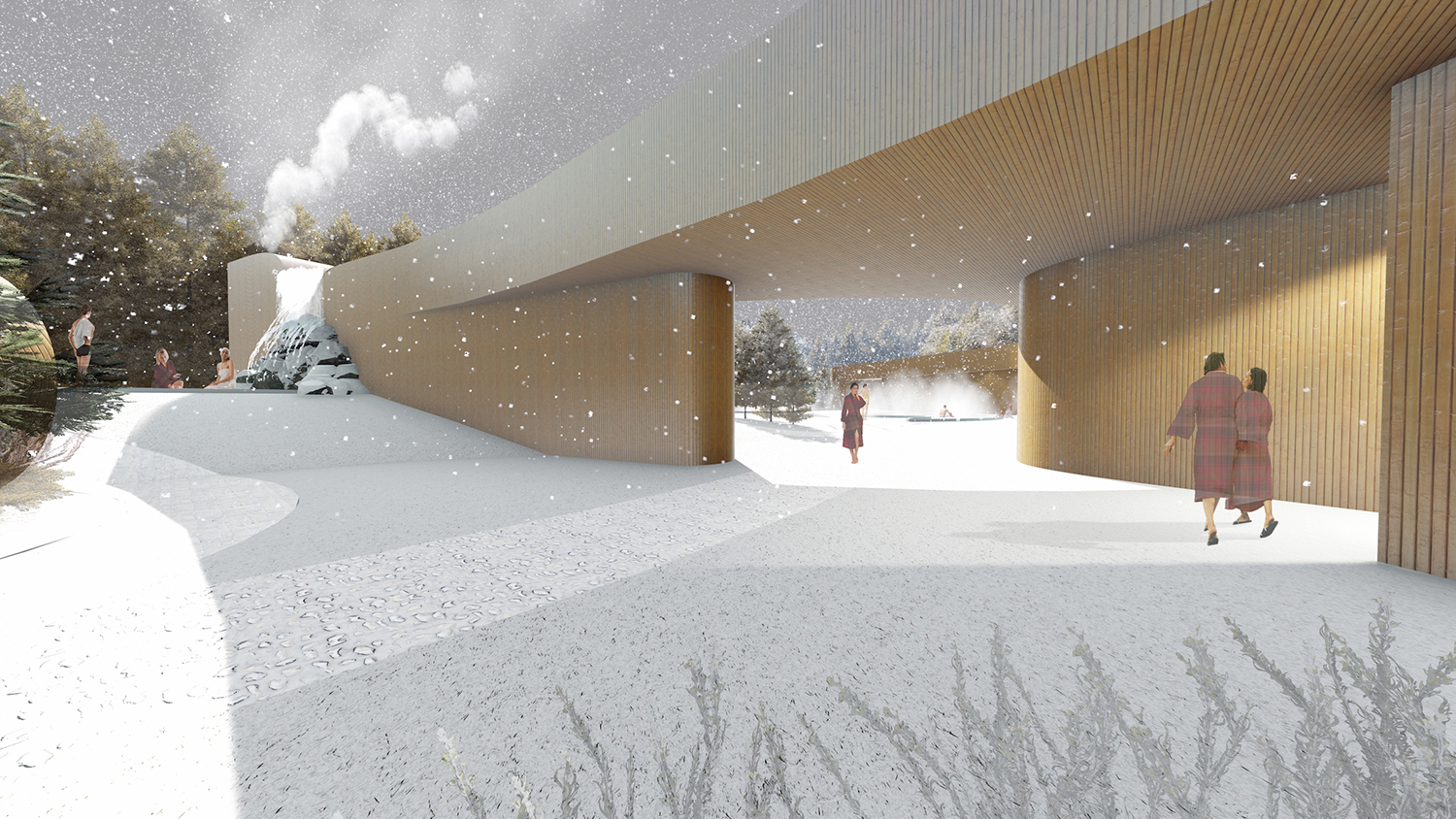 A group of home-grown entrepreneurs have revealed an exciting vision to bring the city of Edmonton its own signature take on a Scandinavian-style, indoor-outdoor spa facility.