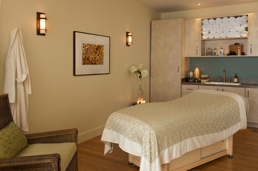 Treatment room at Casa Munras Garden Hotel and Spa.