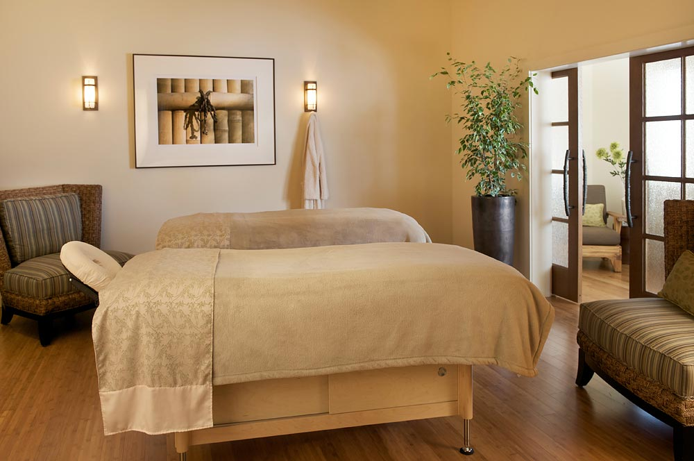 Couple's treatment room at Casa Munras Garden Hotel and Spa.