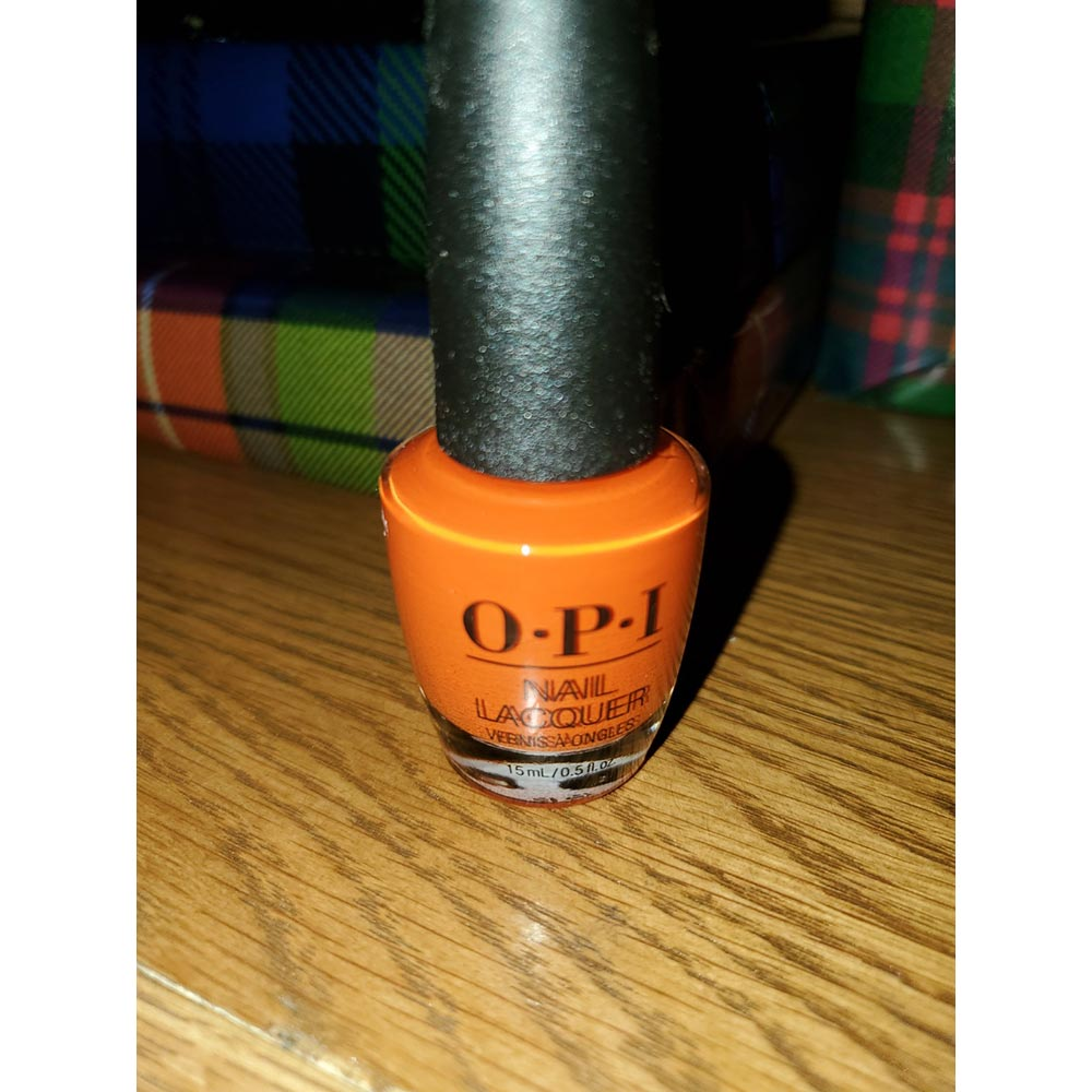 Suzi Needs a Lock-smith from the fall/winter OPI Scotland Collection