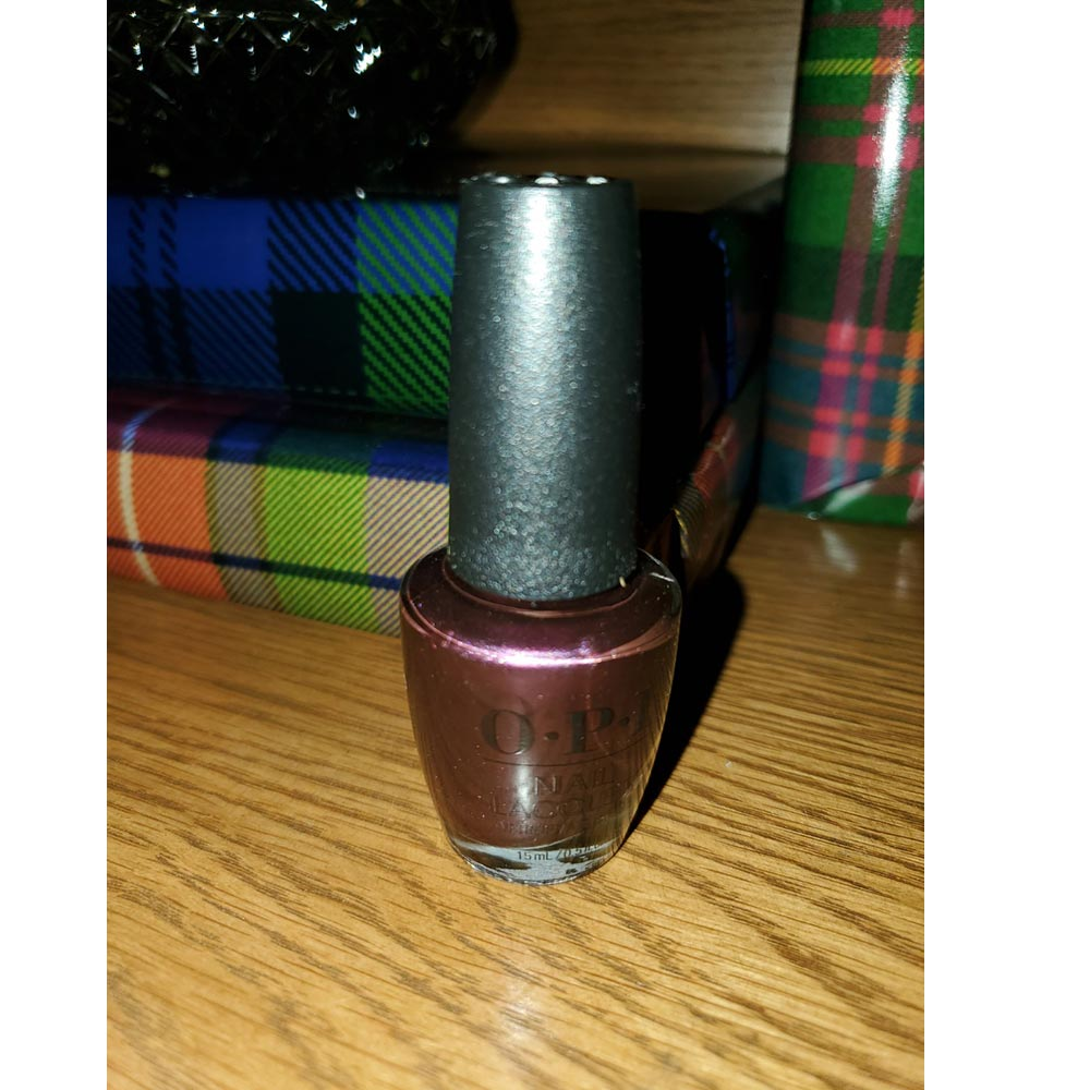 Boys Be Thistle-ing at Me from the fall/winter OPI Scotland Collection