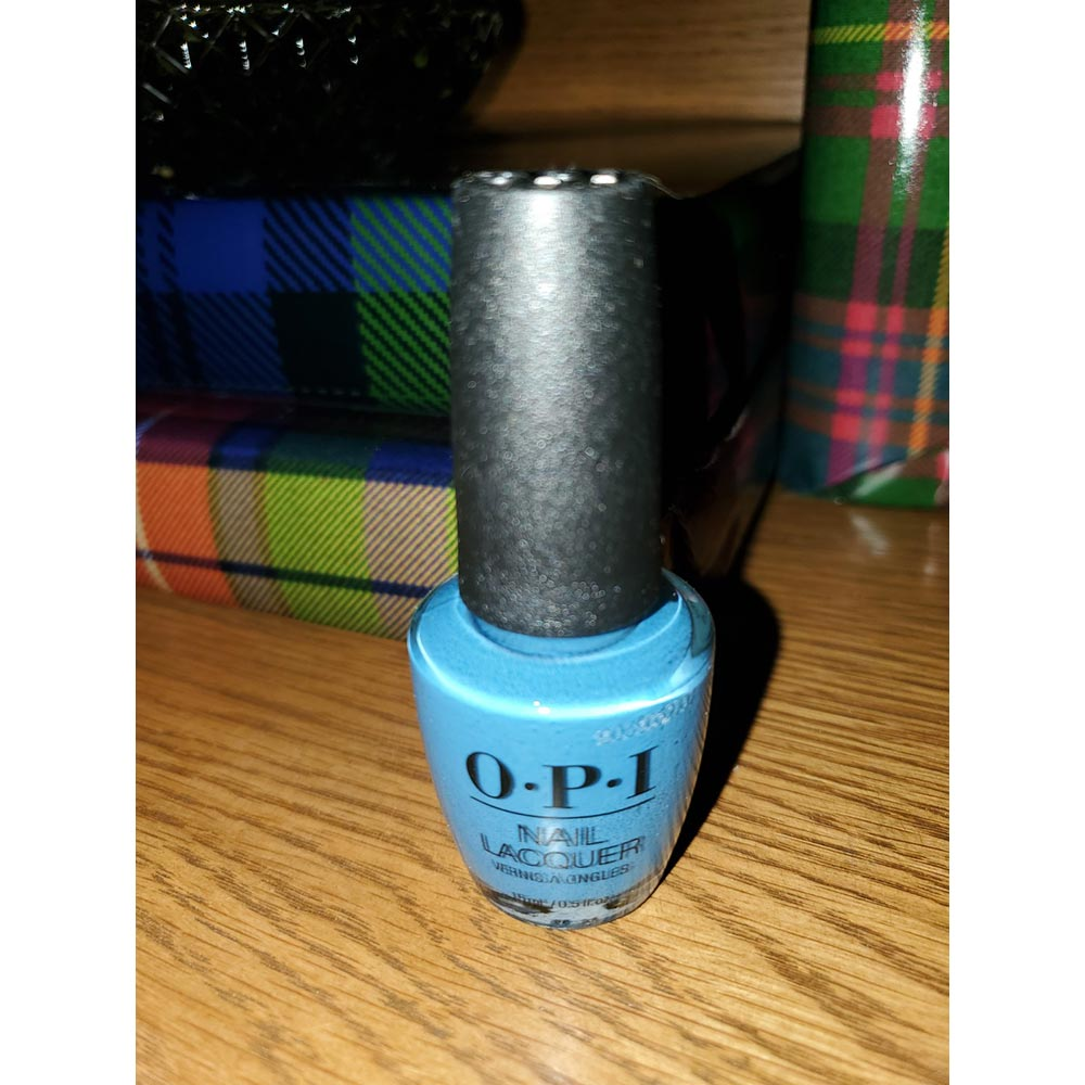 OPI Grabs the Unicorn By The Horn from the fall/winter OPI Scotland Collection