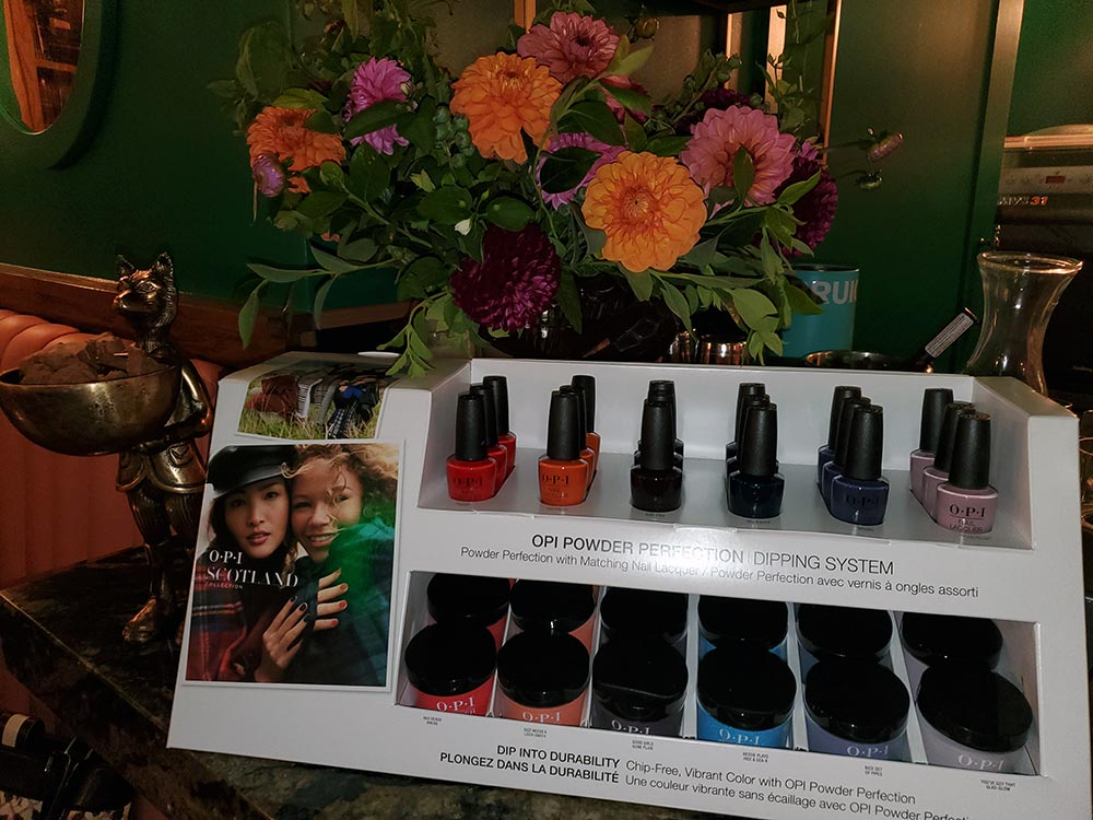 The OPI Scotland Collection.