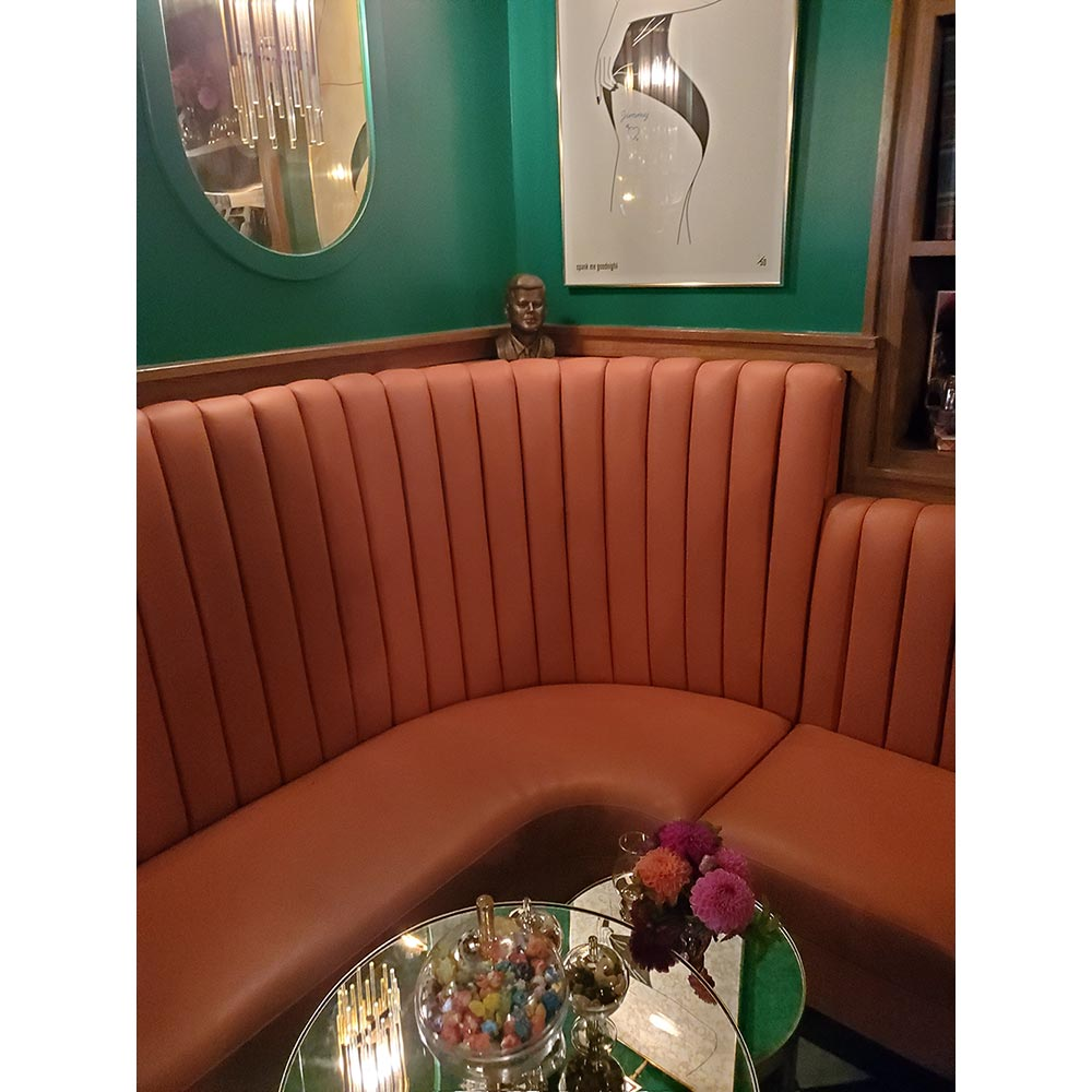 Cute vibes at Society Room in West Hollywood, California.