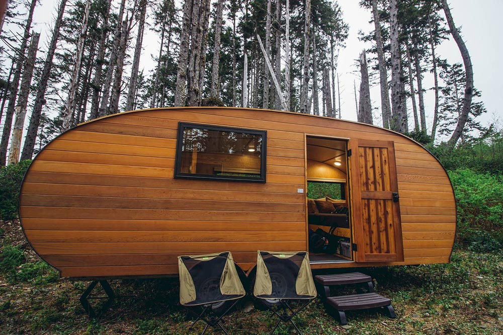 Coastal glamping with ROAM close to the Hoh Rainforest in Washington.