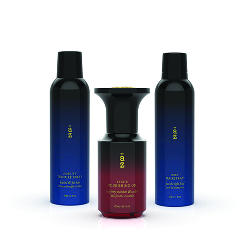 Äz Haircare features 13 high-quality products designed to inspire hairdressers' creativity.