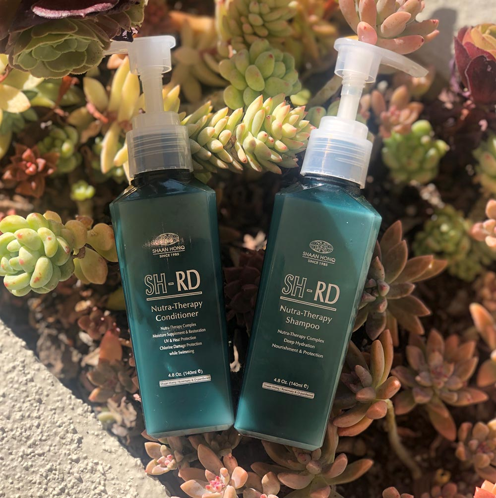 SH-RD's Nutra-Therapy Shampoo and Conditioner.