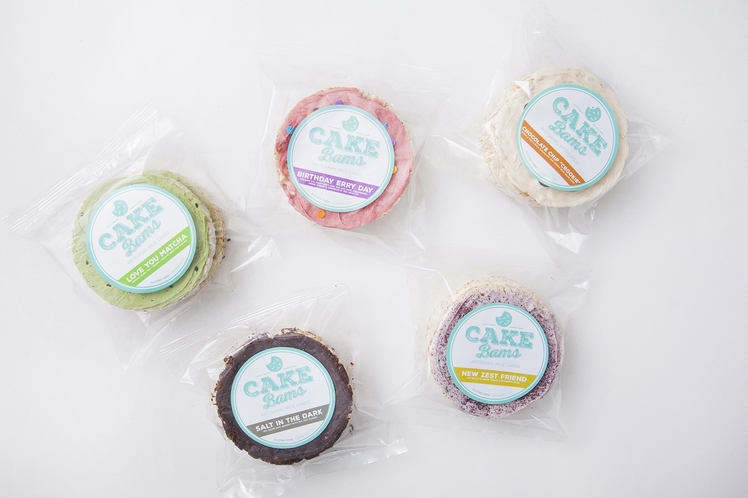 Cake Bams are handcrafted in Los Angeles and immediately packaged for maximum freshness.