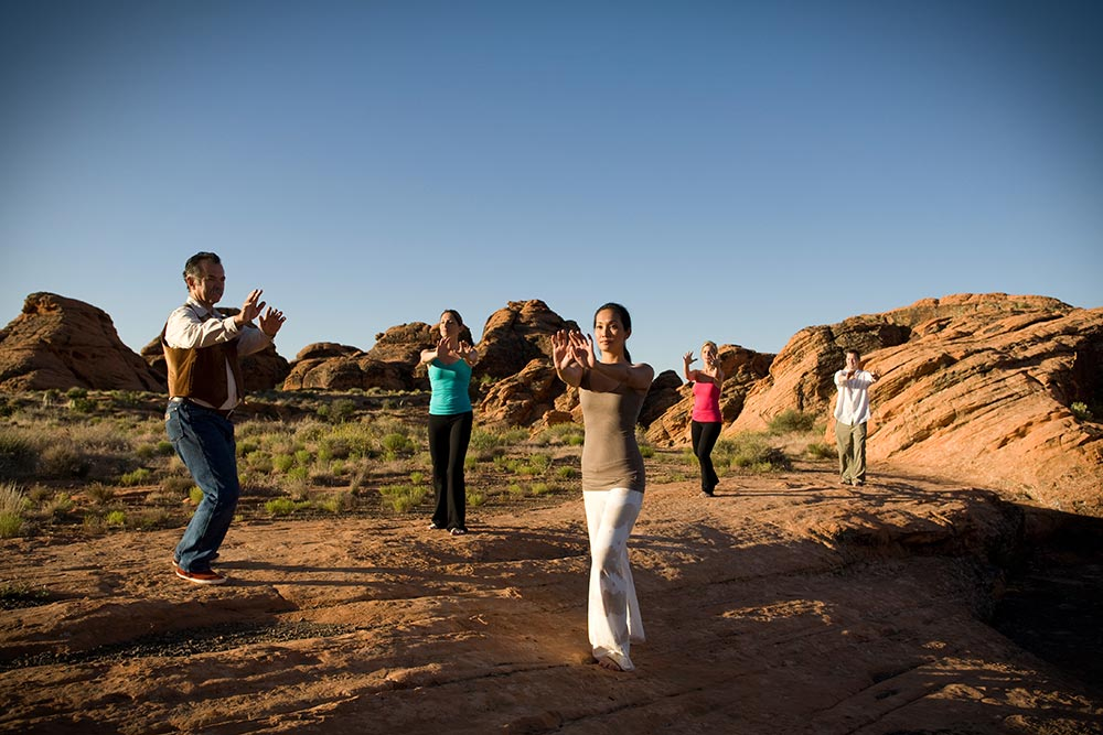 Tai Chi at Red Mountain Resort.