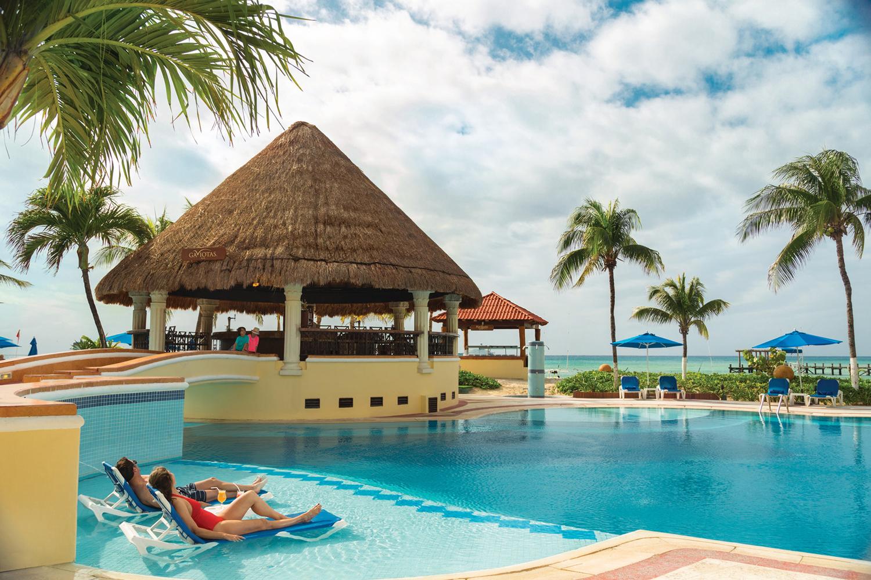 The resort's main pool.