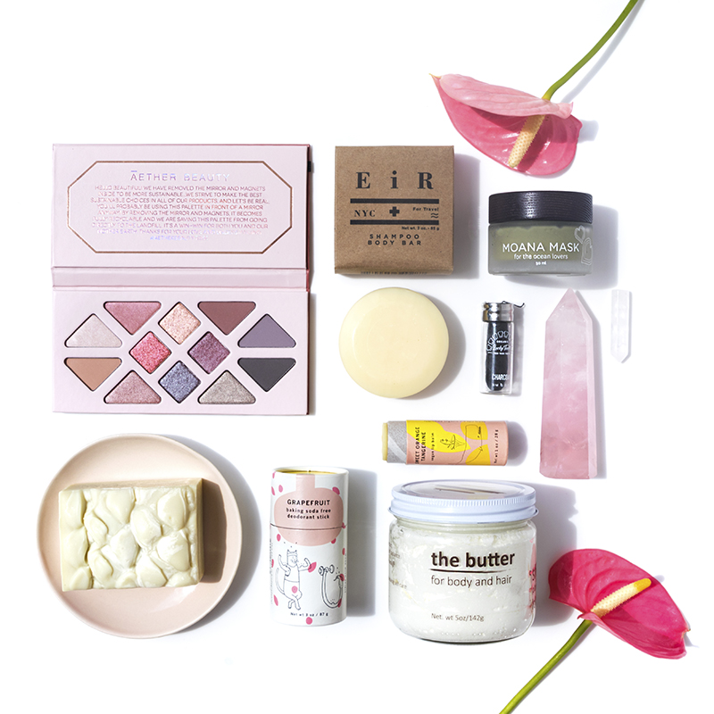 The June Beauty Heroes subscription box.
