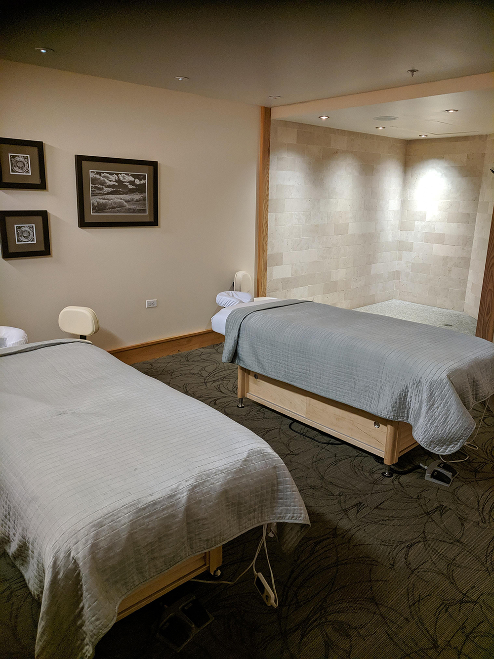 One of the couples treatment rooms.