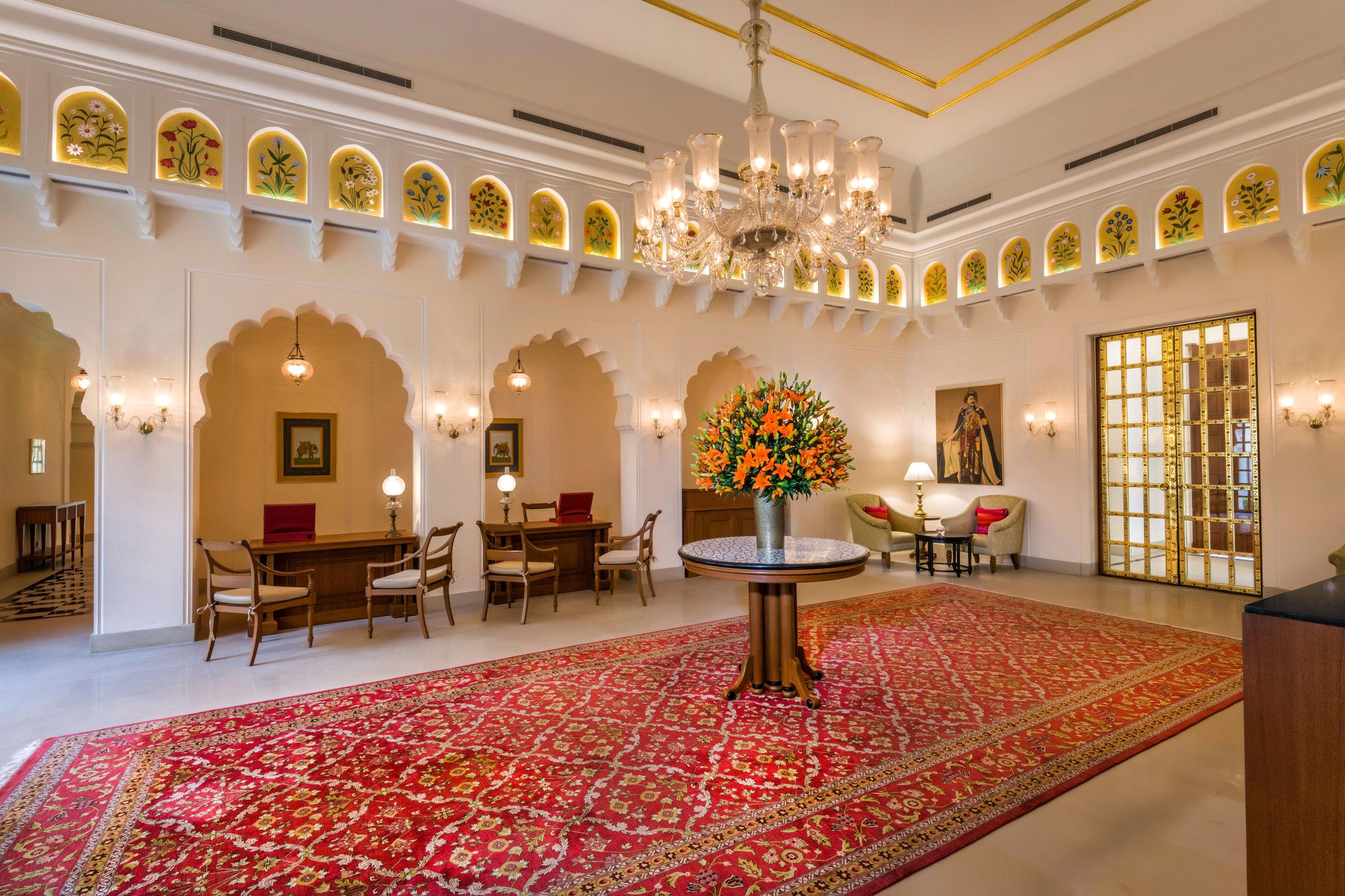 Lobby - The Oberoi Sukhvilas Resort & Spa, Siswan Forest Range, New Chandigarh.jpg