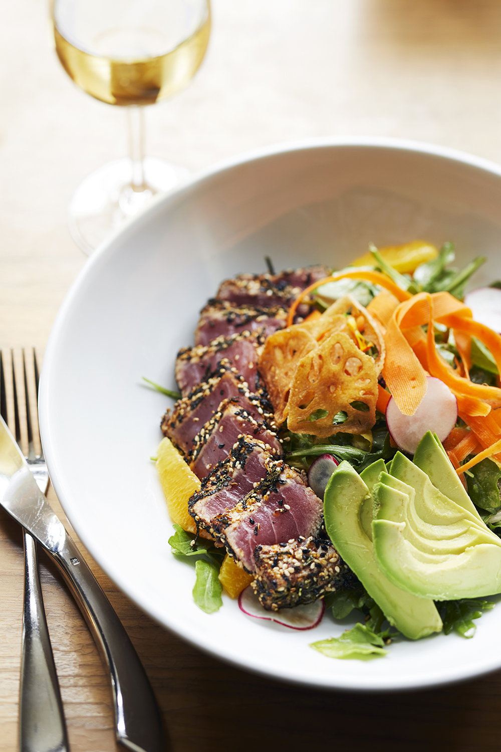 The hotel's restaurant, South Lake Kitchen + Bar, offers healthy Pacific Northwest-inspired dining options.
