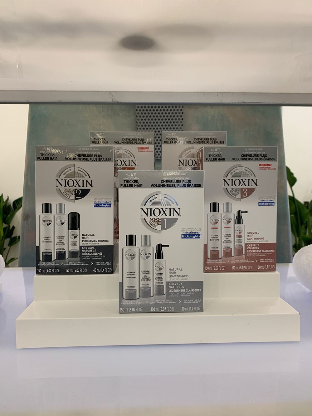 Nioxin products are available in multiple formulas for different hair needs.