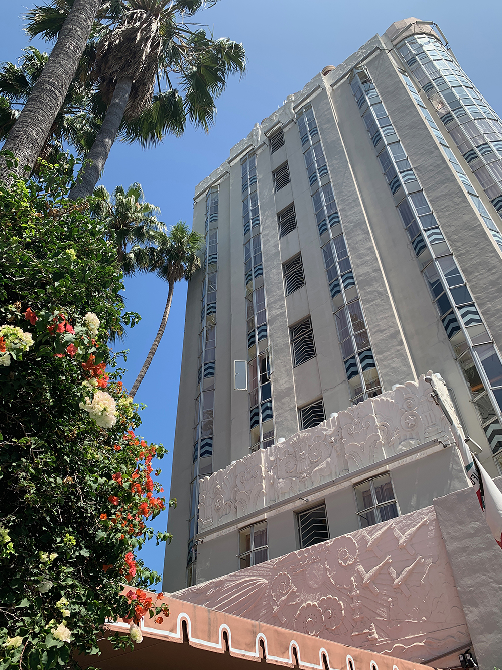 Sunset Tower Hotel is an iconic landmark in Los Angeles.