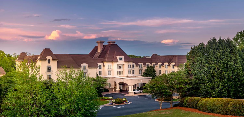 Château Élan Winery & Resort is 40 minutes northeast of Atlanta, Georgia.
