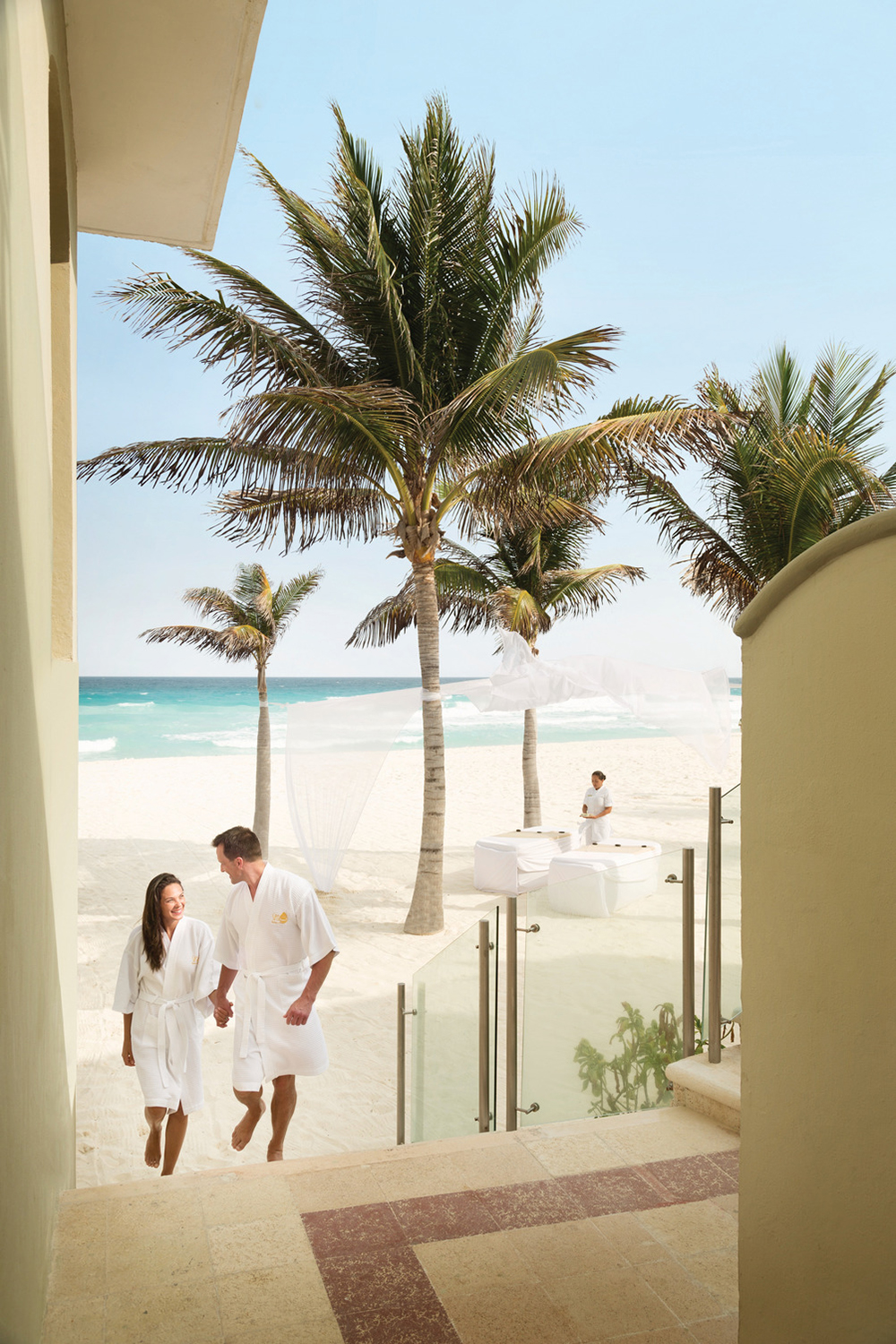 The spa offers a variety of couples treatments for ultimate relaxation time together.
