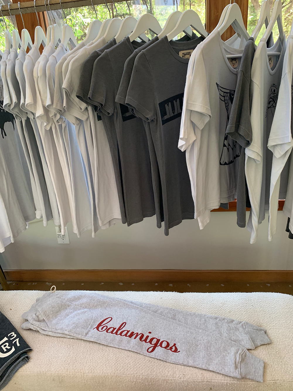 Guests can purchase Calamigos-themed merchandise.