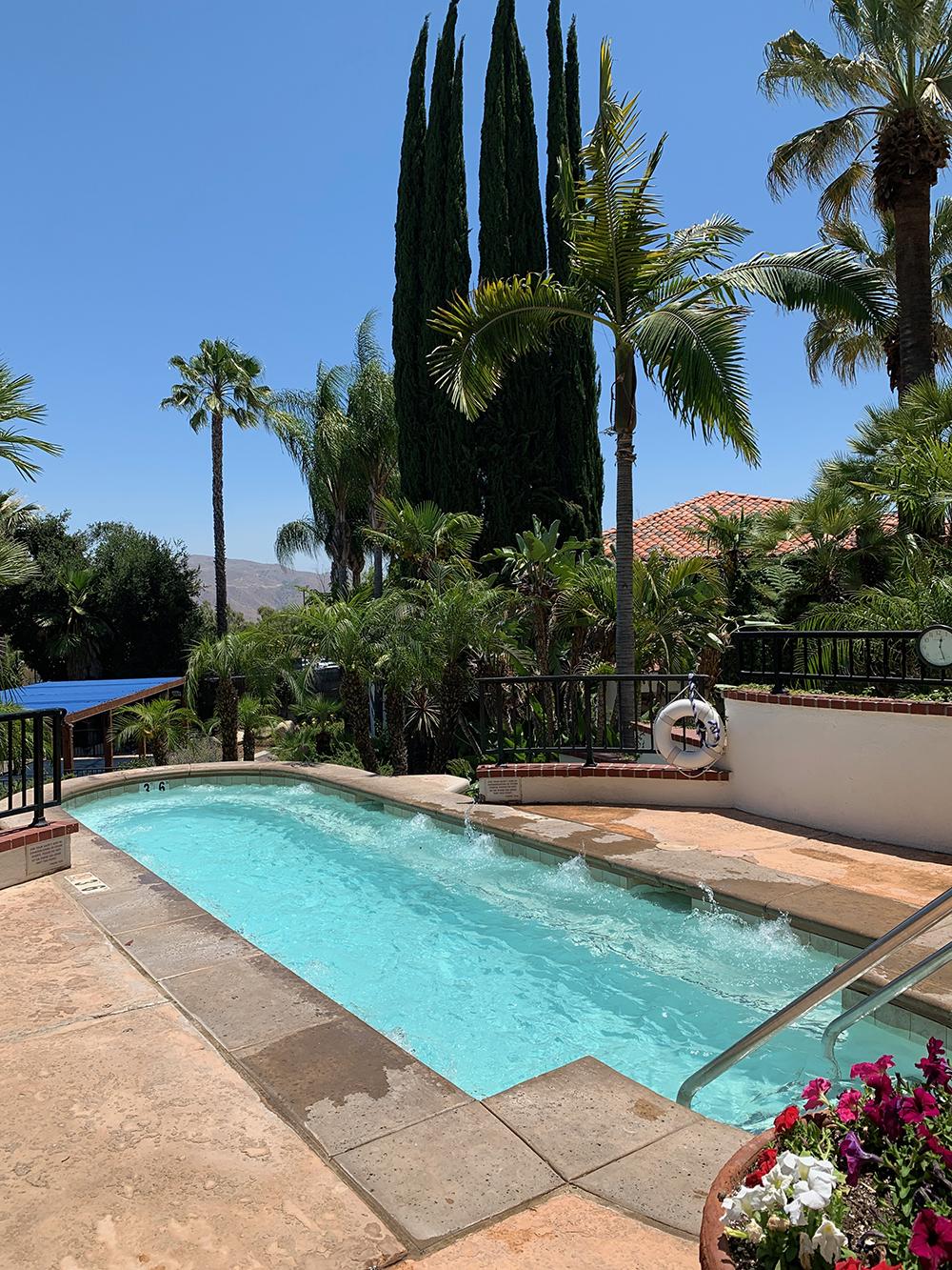 The Vista Pool stimulates the immune system with sulfur, calcium, magnesium, sodium, and potassium.