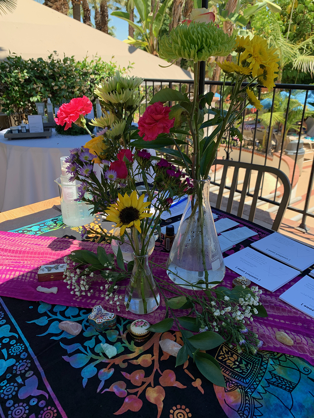 Flower reading is a Victorian pastime that helps one find guidance while reconnecting with nature.