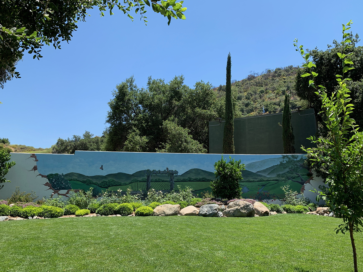 The Secret Garden offers guests a peaceful place to relax and enjoy the beauty of nature.