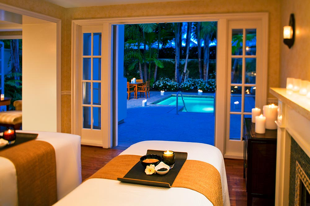 Couple's Suite at Aviara Spa.