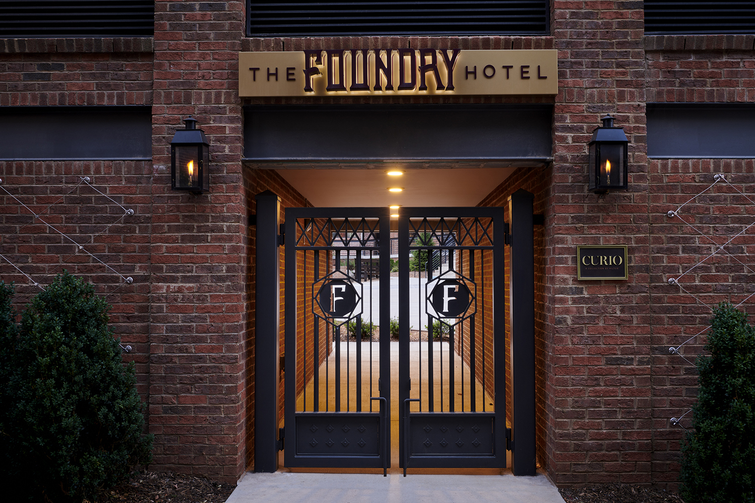 The Foundry Hotel is a renovated former steel foundry in Asheville, North Carolina.