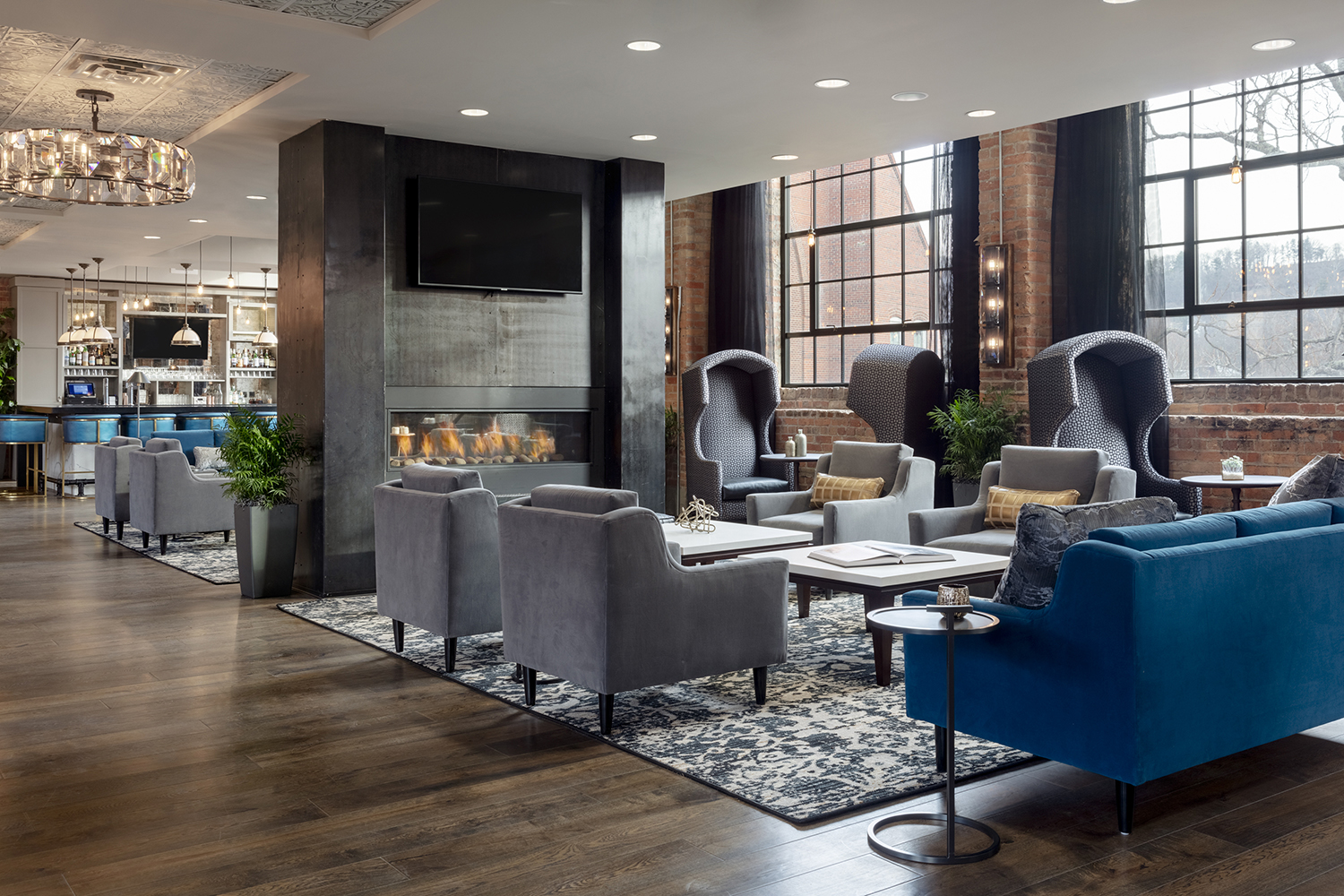 The 87-room luxury boutique hotel combines three historic buildings with two new builds in the heart of The Block neighborhood.