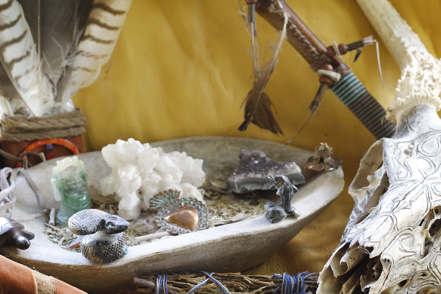 With three Curanderas on the property, Sunrise Springs offers access to wellness verticals that incorporate native practices, including gem therapy and jade oracle readings.