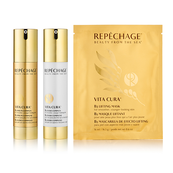 The Repechage Vita Cura Gold Collection is a breakthrough in transformative skincare for smoother, younger-looking skin.