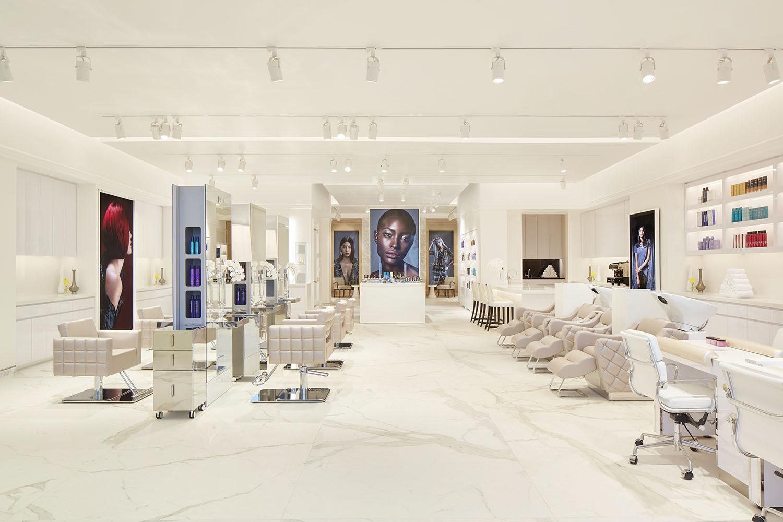 Inside the Salon.