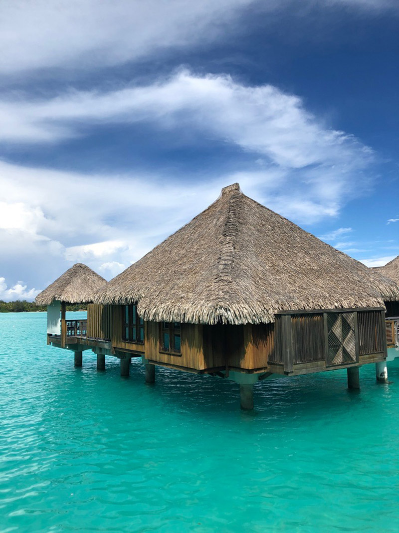 Our overwater villa.