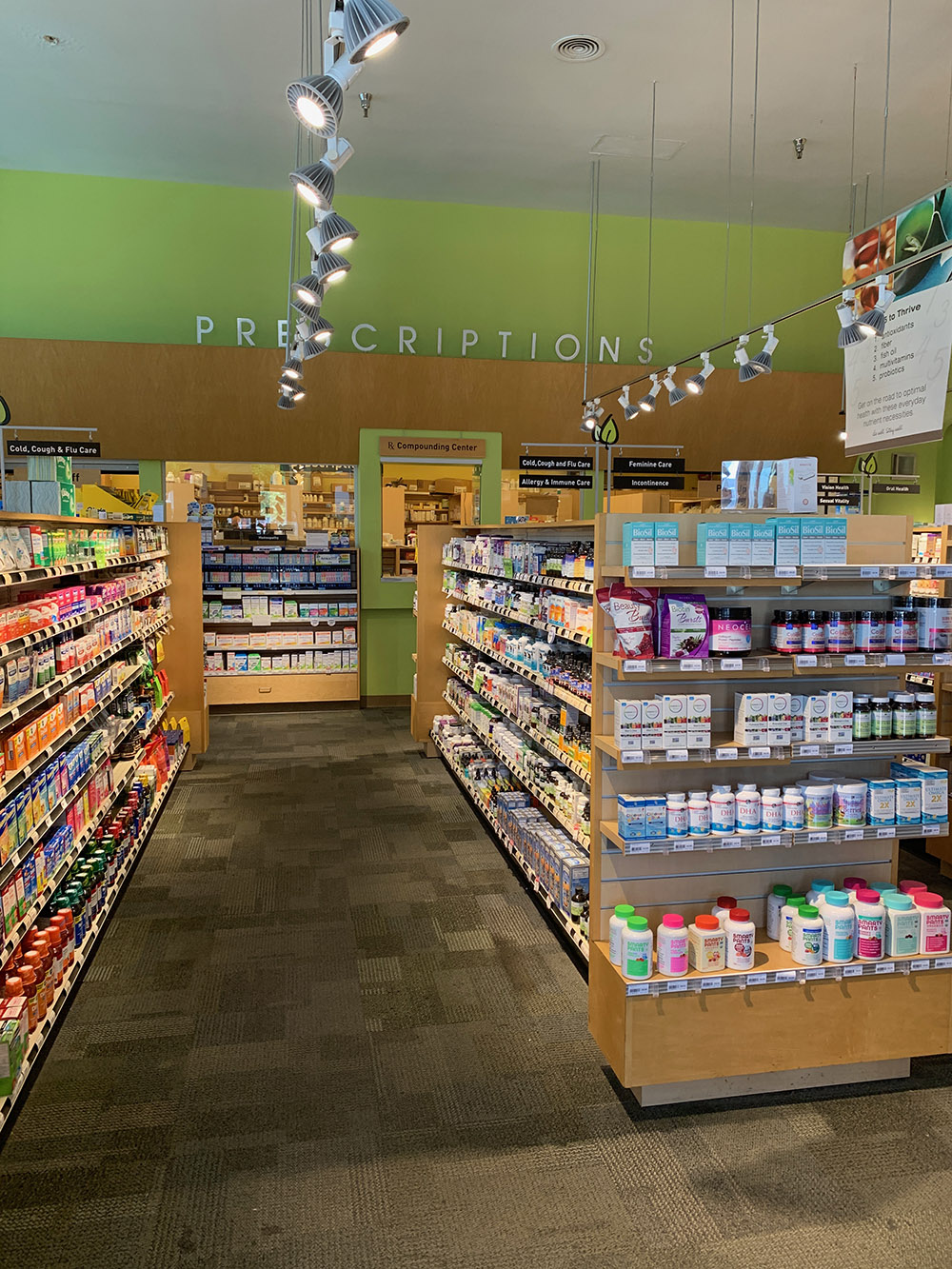 Pharmaca is a full-service pharmacy that offers compounding, vaccinations, and more.